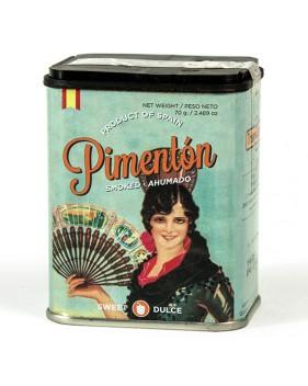 Pimentón dulce 70 gramos. Sevillana