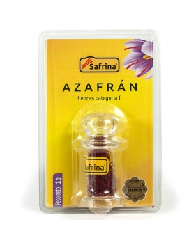 Saffron Filaments. Snaker. Blister. 1 gram