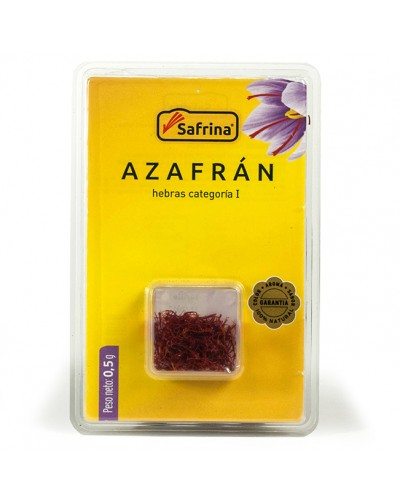 Saffron Filaments box 0,5 gram. Blister