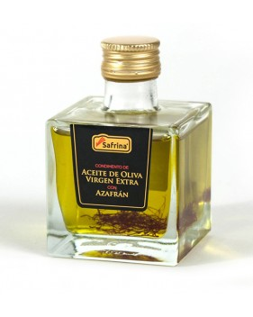 Aceite oliva con azafrán